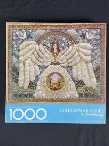 2013 A Christmas Angel Springbok Puzzle Bob Schneeberg 1000 Pieces Hallmark