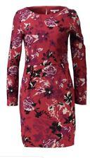 NEW PATRIZIA PEPE RED FLOWERS EVERYDAY TEA PARTY DRESS SIZE UK 12 EU 46 RRP £210