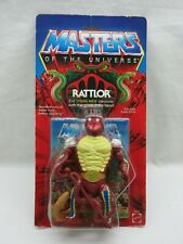 MOTU,Vintage,RATTLOR,Masters of the Universe,MOC,Sealed,figure,He-Man,Clear