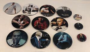 Eminem Pin Badges X 13 (75mm/35mm)