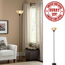 "Modern Floor Lamp Living Room Light Shade Metal Base Stand Home Decor 71"" Tall"