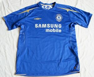 CHELSEA LONDON Umbro Centenary Home Shirt 2005/06 (XL)