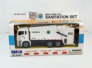 New York City Sanitation Department Garbage Truck Set