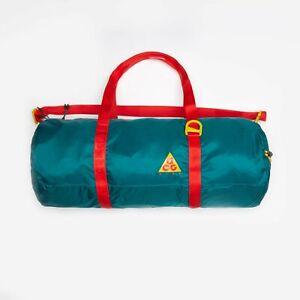 Nike ACG Lightweight Gym Duffle Bag Packable 100% Nylon Dark Green BA5841-381