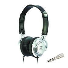 JTS HP-20 Professional Foldable Wired Studio Headphones Live DJ Gaming + Adaptor