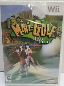 King of Clubs Mini Golf:  FACTORY SEALED- for Nintendo WII