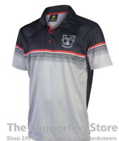 New Zealand Warriors NRL Classic Sublimated Polo Shirt Size S-5XL! S17