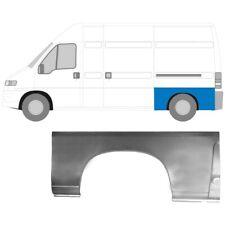 FIAT DUCATO BOXER RELAY MWB LWB 1994-2006 REAR WHEEL ARCH REPAIR PANEL / LEFT