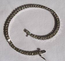 2ctw Genuine Diamond 14kt Gold Tennis Line Bracelet