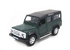 1:36 Land Rover Defender Diecast Pullback Model Toy Car Green New in Box