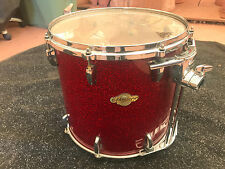 "Pearl Masters Studio Birch 16"" Tom Drum RED SPARKLE"