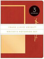 Frank Lloyd Wright Writer's Notebook Set [New Book] Journal, Paperback