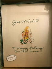 Joni Mitchell SIGNED Morning Glory On The Vine Book Limited Edition RARE