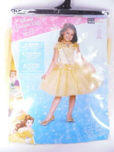 Disguise Disney Princess Beauty & The Beast Belle Child Costume S/P 4-6X Ages 4+