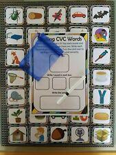 CVC game matching CVC words phonics ks1 word game fun teaching learning