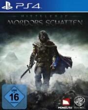 Playstation 4 Schlacht um Mittelerde Mordors Schatten Gebraucht Neuwertig