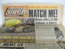 UK Motor Cycle Newspaper September 1977 Barry Sheen Kenny Roberts 15DT L1168