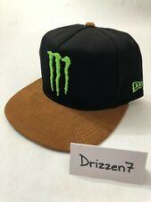 Monster Energy Athlete Only New Era 9Fifty Adjustable Hat Cap