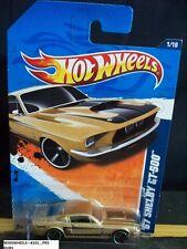 HOT WHEELS 2011 #101 -7 67 SHELBY GT-500 GOLD PR 5 AMER 11 CARD