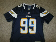 Cordarro Law #99 San Diego Chargers NFL Football Jersey Reebok Team Apparel S SM