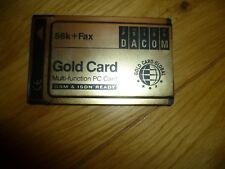 More details for pre owned 56k + fax psion dacom gold card multi-function pc card gsm & isdn