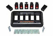 UltraHeat - 5 Gang System Kit Switch Package, With Lighted Switches, 13.5 VDC