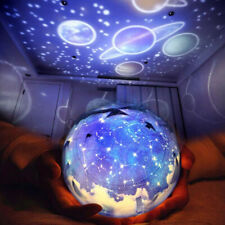LED Galaxy Starry Night Light Projector Ocean Star Sky Moon Lamp Kids Bedroom LE