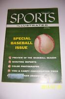 1956 Sports Illustrated BASEBALL Preview MICKEY MANTLE Willie MAYS Ted WILLIAMS