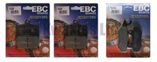 Freni e ricambi EBC per moto Triumph