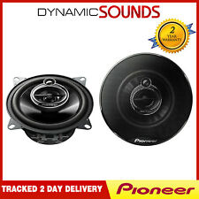 "Pioneer 420 Watts Total 4"" Inch 10 cm 3 Way Car Front  Door Dash Speakers Pair"
