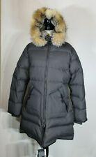 "PAJAR Canada ""Cougar"" Down Fox /Rabbit Fur Charcoal Parka Women's Size XL,NWT"