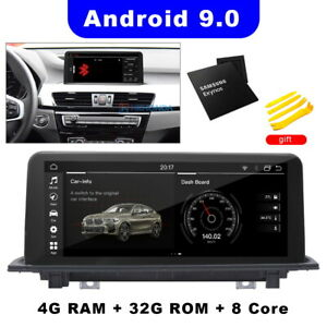 """10.25"""" Car Stereo GPS Black Touch Screen Headunit 8-Core For BMW X1 F48 2016-18"""