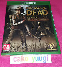 THE WALKING DEAD SEASON TWO XBOX ONE NEUF VERSION 100%  FRANCAISE