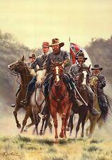 General James Longstreet at Gettysburg Pennsylvania, Military Civil War Postcard