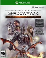 Middle-Earth: Shadow of War Definitive Edition - Xbox One NEW & Sealed