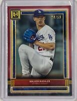 WALKER BUEHLER 2020 TOPPS MUSEUM COLLECTION CARD #44 LOS ANGELES DODGERS #d/50