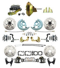 "GM A, F, X Body Front & Rear 11"" Power & Performance Disc Brake Conversion Kit"