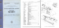 FIAT G.91 JET PARTS SERVICE MANUAL 1960's period aircraft rare archive detail