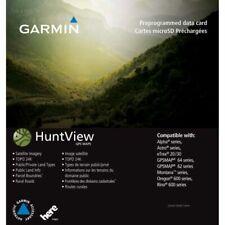Garmin Huntview Map Card Utah Birdseye 24k Topo Landowner Hunt View