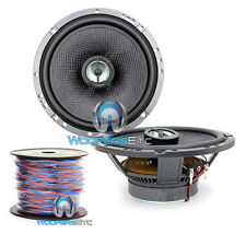 "pkg FOCAL 165CA1SG 6.5"" CAR AUDIO 2-WAY COAXIAL SPEAKERS + TRUE 16 GAUGE 50 FT"