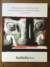 Sotheby`s TRESORS DE LA CHINE ANCIENNE DE LA COLLECTION DAVID DAVID-WELL ,Paris