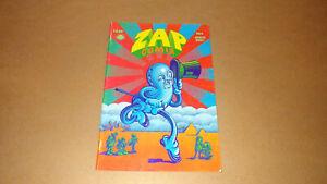 Zap Comix No. 4 1969 Last Gasp Apex Novelties 7th Printing VF 8.0 Robert Crumb