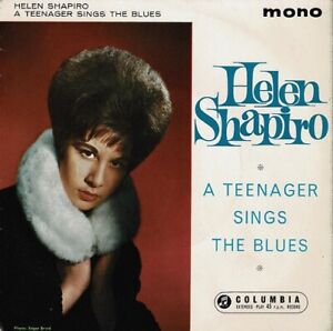 HELEN SHAPIRO A Teenager Sings The Blues EP Vinyl 7 Inch Columbia 1962 & Signed