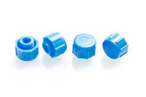 Dispense All - Easy Grip Syringe Tip Cap - Luer Lock, Blue, Non-Sterile