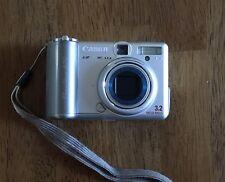 Canon Powershot A70 3.0 MP Digital Camera Used