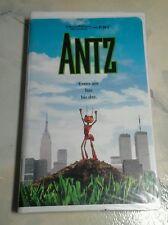 Antz (Vhs, 1999, Clamshell) DreamWorks WoodyAllen, Stone, Stallone, Gene Hackman