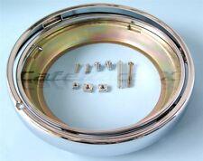 """Kawasaki KZ Motorcycle Headlight 7"""" Shell Retainer Rim Ring Chrome KZ550 - 1100"""