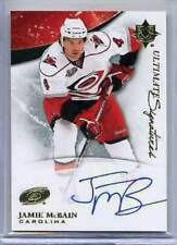 2010-11 Ultimate Collection Signatures Jamie McBain Autograph Auto (Box DP)