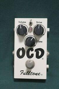 Fulltone OCD Obsessive Compulsive Drive Elect Guitar Effect Foot Pedal Switch
