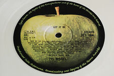 "The Beatles ""Let it Be"" 1978 UK Export White Vinyl PCS 7096 Stereo Rock LP. EX+"